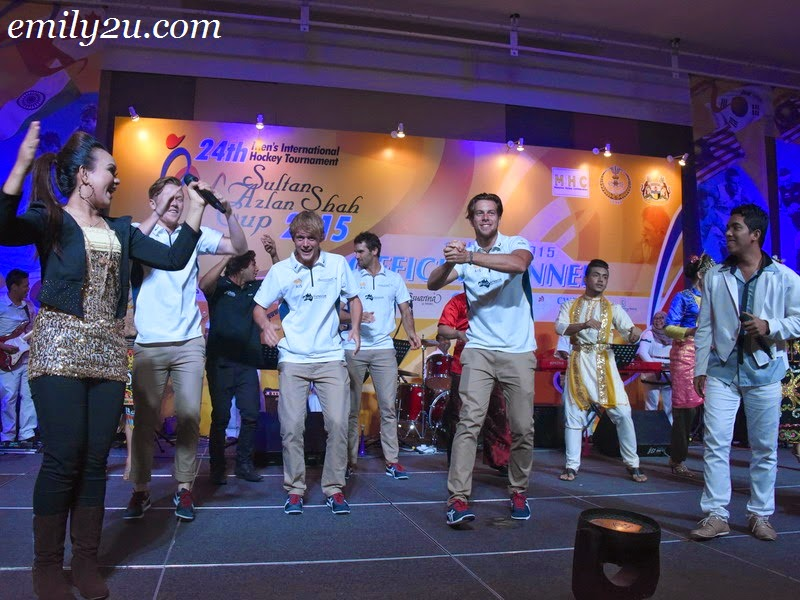 Sultan Azlan Shah Cup official dinner