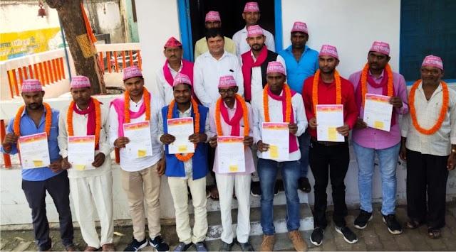 भागीदारी पार्टी ने जागरूकता अभियान चलाकर लोगों से की मुलाकात