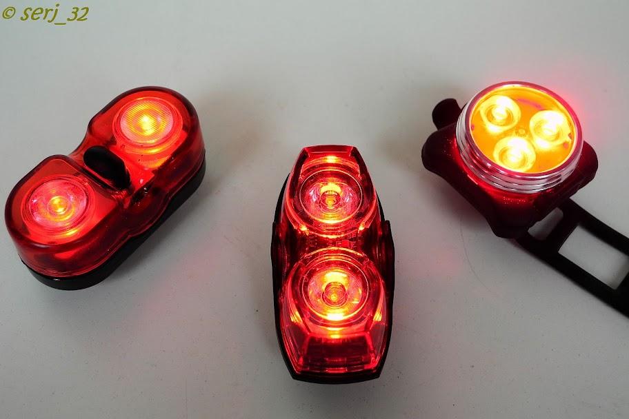 GearBest: Красная вело мигалка
