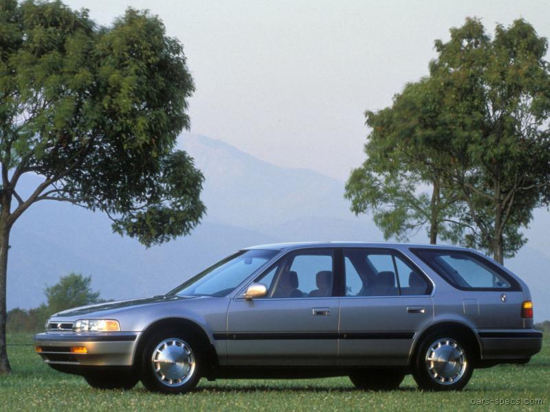 Captivating 1991 Honda Accord Wagon 00001 ...