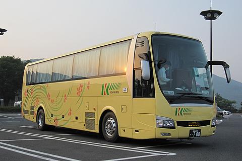 弘南バス「津輕号」 700 佐野SAにて