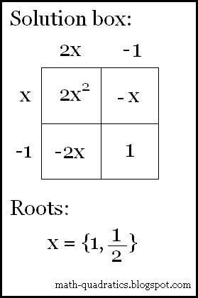 the math blog worksheet 1 box method. Black Bedroom Furniture Sets. Home Design Ideas