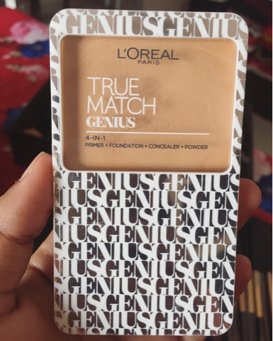 L'Oreal True Match Genius 4-In-1 Compact Foundation G3 Gold Vanilla