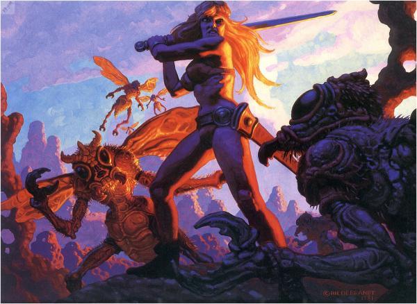 Kaleha At Battle, Magick Warriors 5