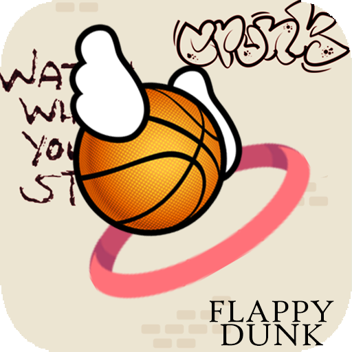 Flappy Dunk  -  classic (game)