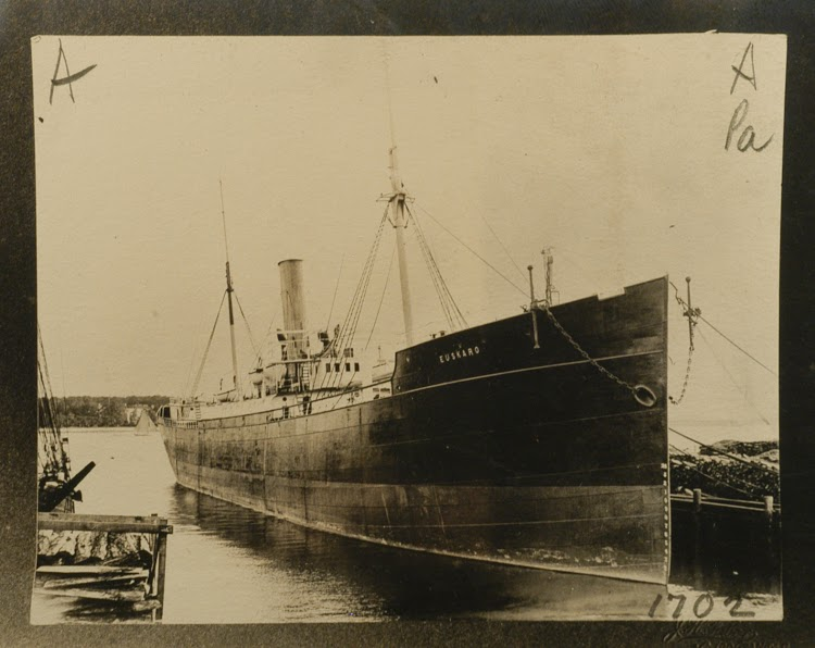 Vapor EUSKARO. Ca. 1904. Merritt-Chapman & Scott Corporation. Foto Mystic Seaport. The Museum of America and the Sea.TIF