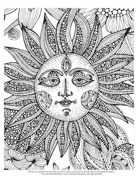 Free Difficult Coloring Pages For Kids
