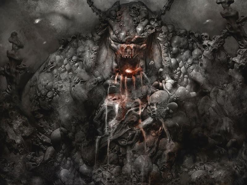 Mystical Demon Beauty, Evil Creatures