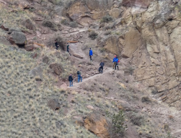 Smith Rock Hikers