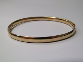 14 K Gold Bangle