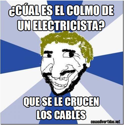 colmo de un electricista (2)