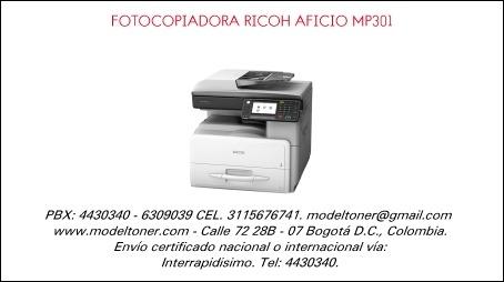 Ricoh Mp301