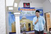 Resmikan Masjid Bantuan Pasca Gempa, Gubernur NTB : Fungsikan Sebagai Tempat Ibadah