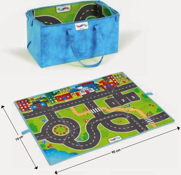 Đồ chơi bằng nhựa Viking City V5557 kèm theo 1 tấm bản đồ giao thông