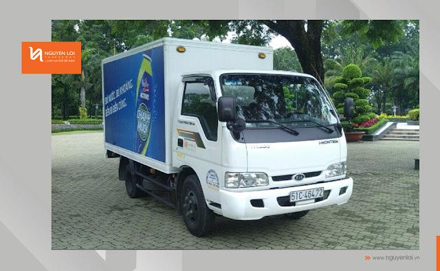 Thuê xe tải làm TVC