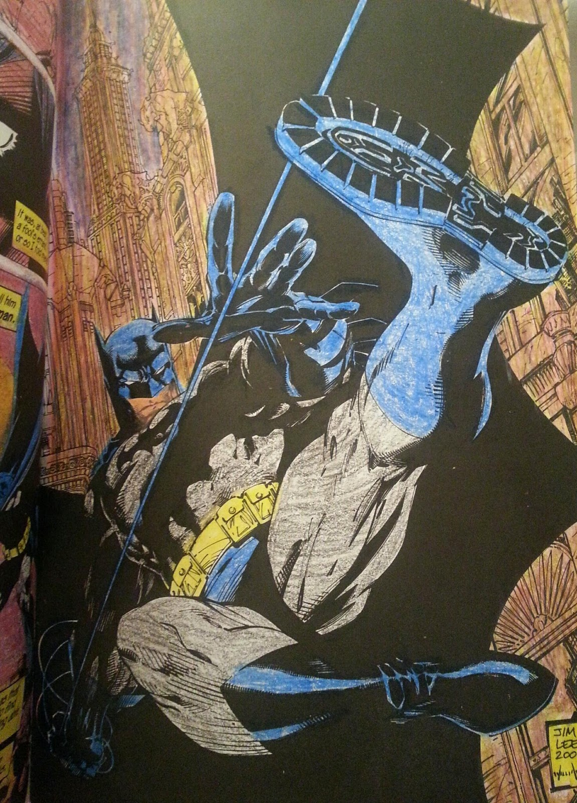 2nd Chance With A Coloring Book Page Would Be If You Bought Two Copies But I Could Imagine Batman In Black And Grey Suit Purple Gloves
