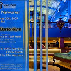 June Networker at David Barton Gym