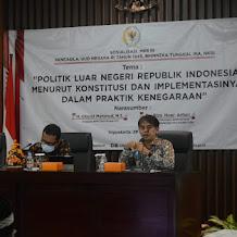 Pengelolaan Politik Luar Negeri,  Anggota DPD RI Cholid Mahmud : Harus Responsif