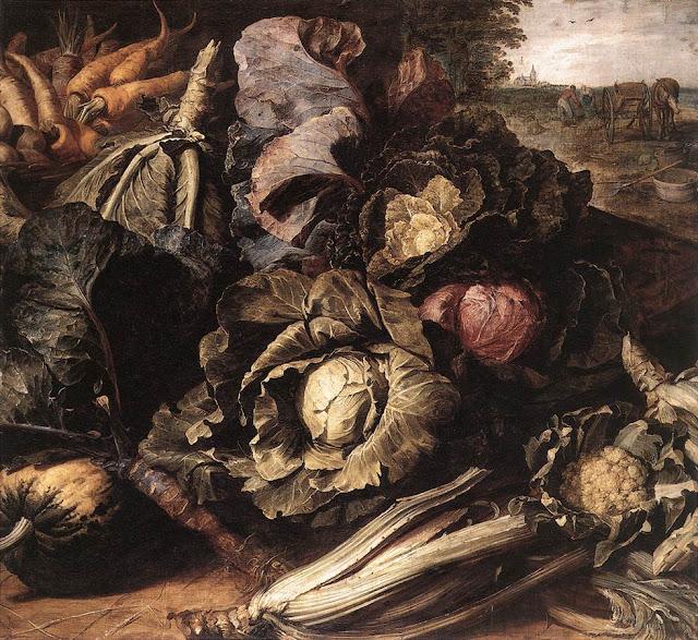 Frans Snyders - Vegetable Still-Life