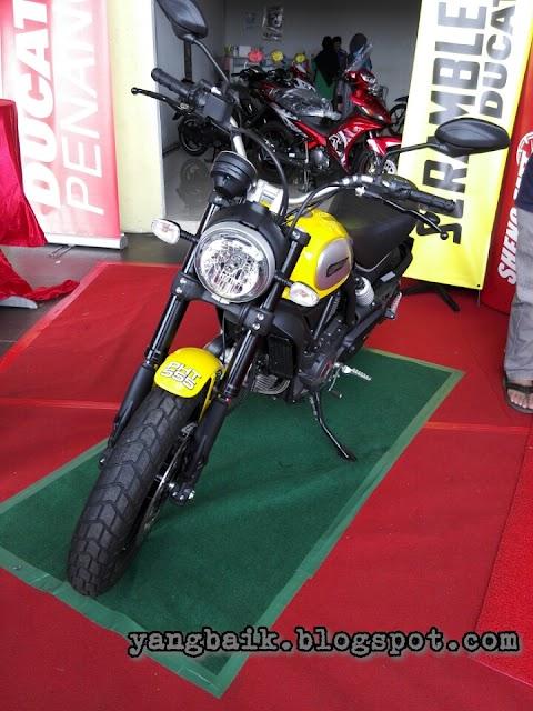 Ducati bukan milikku