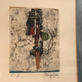 Johnny Friedlaender Signed Small Etching