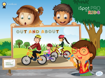 iSpot Pro for Kids Main Page