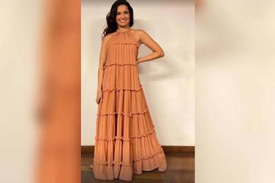 Vestido que Juliette usou durante live de Gilberto Gil esgota em 24h