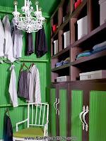 Phòng thay đồ: 10 phòng để quần áo đầy phong cách