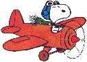 Ben's Snoopy Plane
