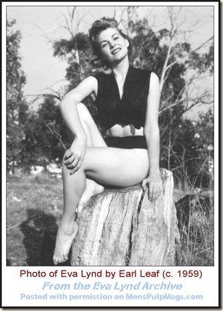 Eva Lynd photo by Earl Leaf c1959 WM6