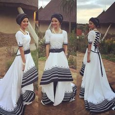 south african traditional wedding dress 2017 - Styles 7