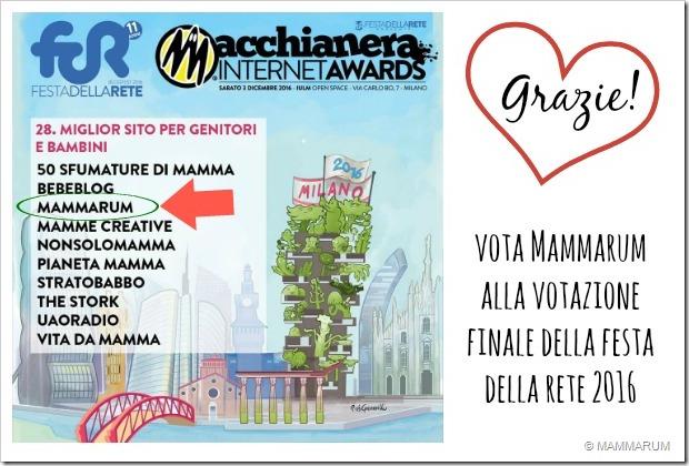 Vota Mammarum alla votazione finale della Festa della Rete 2016