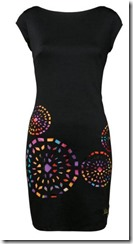 Desigual stretch shift dress with low back