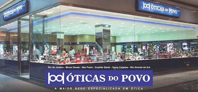 A tradicional empresa óticas do Povo, também é parceira do PAF-RJ com 0ae2d7b781