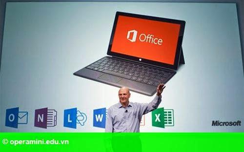 Hình 1: Microsoft miễn phí Office cho thiết bị chạy Android