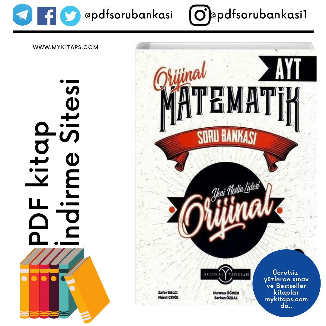 Orijinal Yayınları AYT Matematik Soru Bankası PDF İndir