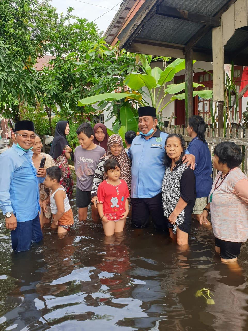 BKPRMI-Kabaharkam Polri Ringankan Beban Korban Banjir Banjarmasin