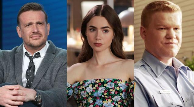 ✅ JASON SEGEL, LILY COLLINS y JESSE PLEMONS protagonizarán 'Windfall' para NETFLIX