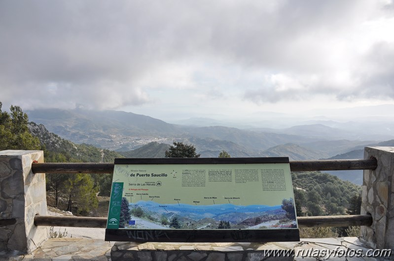 Puerto Saucillo - Peñón de los Enamorados