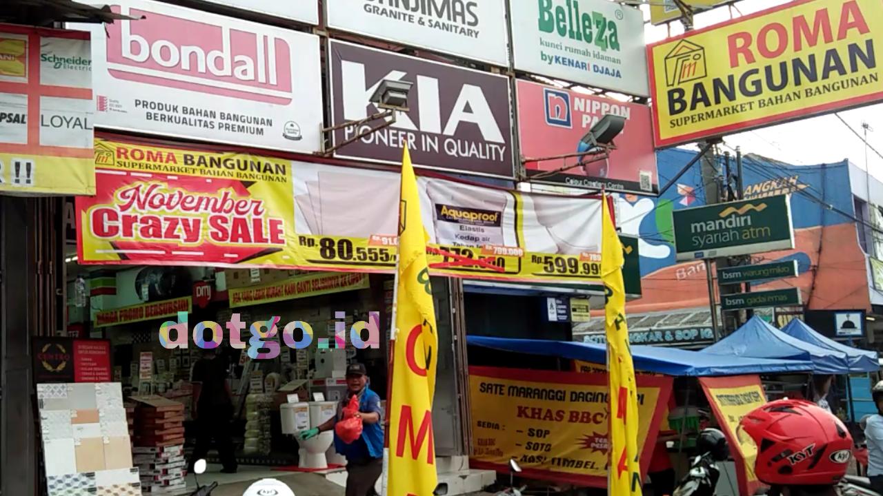 Roma Bangunan Toko Supermarket Bangunan Di Karawang Yang Lengkap