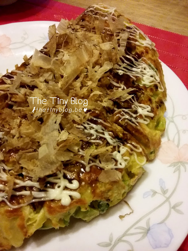Okonomiyaki without octopus