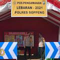 Kapolsek Marioriawa Dampingi Kapolres Pantau Langsung Pos Pam Kec.Marioriawa