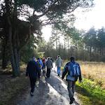 007-Nieuwjaarswandeling met de Bevers.Menno gidst ons door het mooie natuurgebied De Regte Heide te Go+»rle