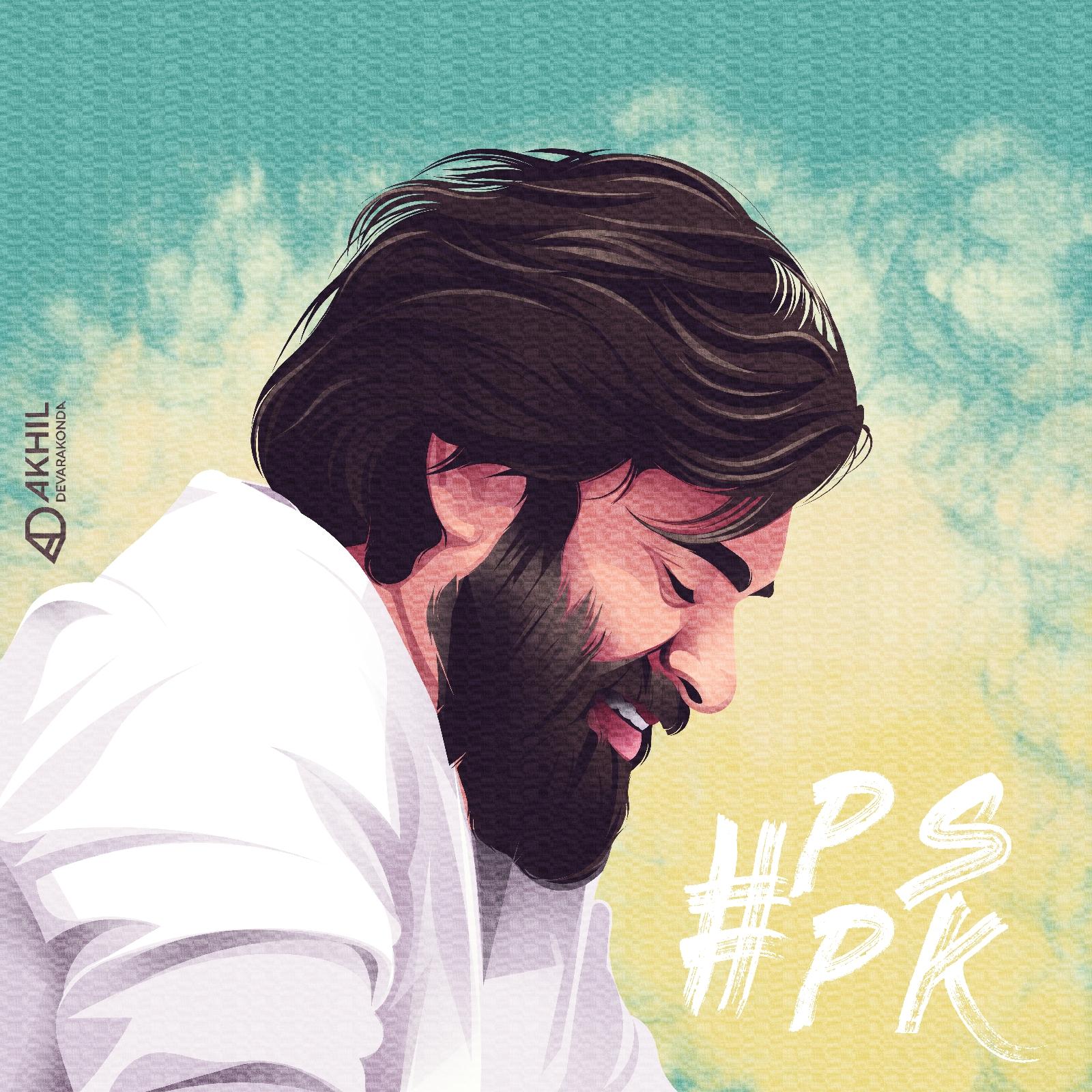 Pawan Kalyan Poster Vector Art