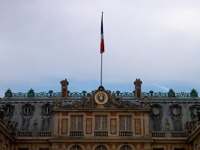 Detail, the main façade, Château de Versailles