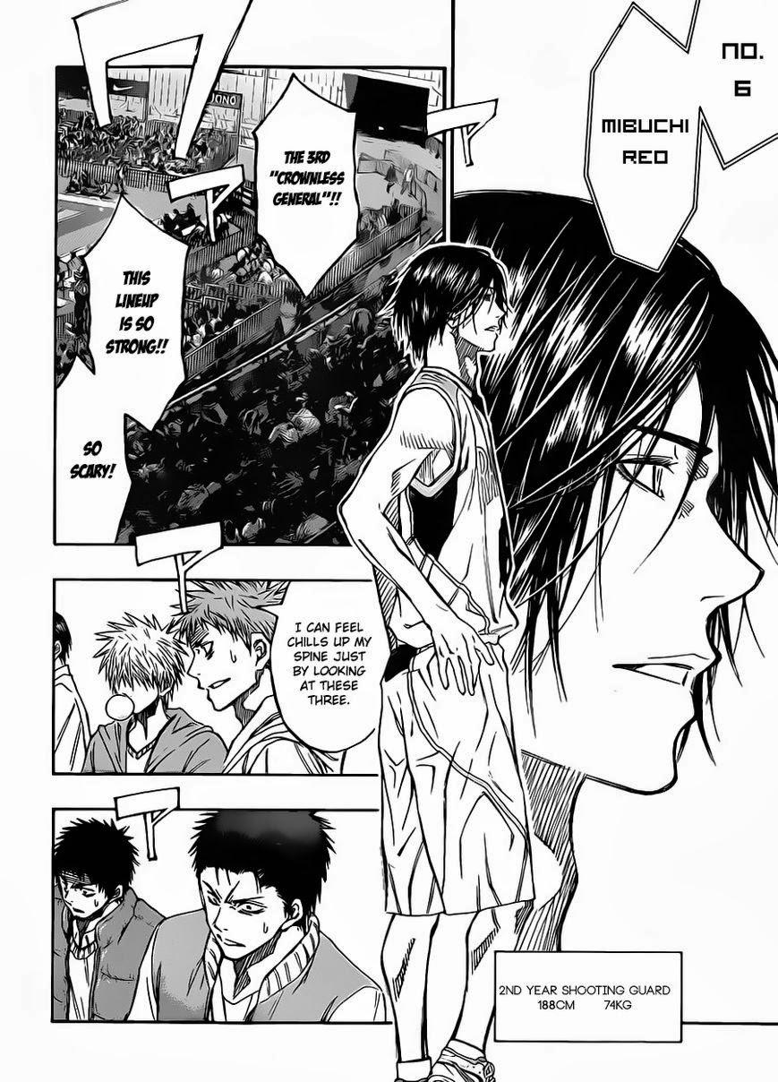 Kuroko no Basket Manga Chapter 231 - Image 17