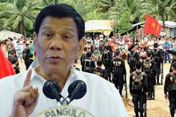 Filipina Lancarkan Perang Melawan Komunis, Duterte: Lupakan HAM, Itu Perintah Saya