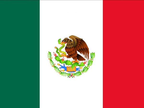 Colores de la bandera de México