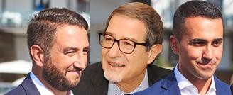 Luigi-Di-Maio-Musumeci e-Giancarlo-Cancelleria
