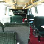 het interieur in de mercedes 0303 van Hummelinckstuurman